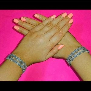 Silver Baguette Bracelet